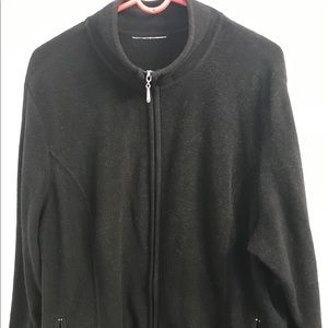 Jackets & Blazers - Plus Size, Women's Classic Fleece Jacket